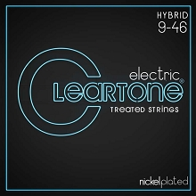 Cleartone EMP Treated Nickel Plated Steel Guitar String Set 09-46 Hybrid 9419