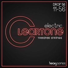 Cleartone EMP Treated Nickel Plated Steel Heavy Series Guitar String Set 11-56 Alt Tuning 9456