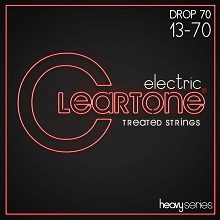 Cleartone EMP Treated Nickel Plated Steel Heavy Series Guitar String Set 13-70 Alt Tuning 9470