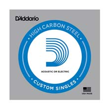 D'Addario XL Plain Steel Single String - .020P
