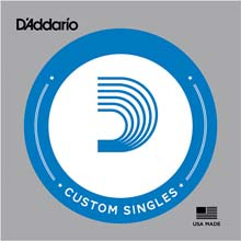 D'Addario XL Nickle Single Electric Double Ball End String - .105DB