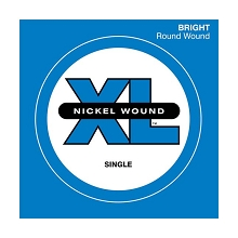 D'Addario XL Nickel Wound Single String Super Long Scale - .165T