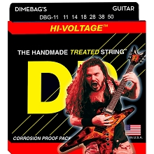 DR Dimebag Darrell StringLife Treated Electric Guitar String Set - 11-50 Heavy DBG-11