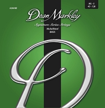 Dean Markley NickelSteel Bass String Set Long Scale - 5-String 45-128 2604B