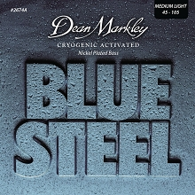 Dean Markley Blue Steel Nickel Bass String Set Long Scale - 4-String 45-105 2674A