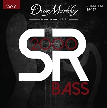 Dean Markley SR2000 Bass String Set Long Scale - 6-String Tapered 5-128 Medium 2699