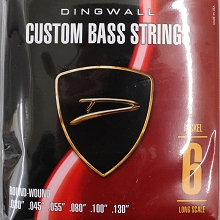 Dingwall Nickel Plated Steel Long Scale Multi-Scale Length - 6-String 30-130