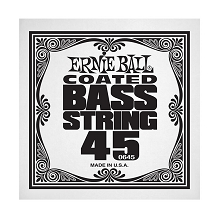 Ernie Ball Coated Nickel Wound Electric Bass Single String - Long Scale .045