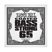 Ernie Ball Coated Nickel Wound Electric Bass Single String - Long Scale .065