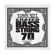 Ernie Ball Coated Nickel Wound Electric Bass Single String - Long Scale .070