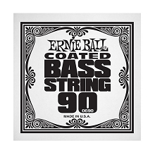 Ernie Ball Coated Nickel Wound Electric Bass Single String - Long Scale .090