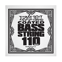 Ernie Ball Coated Nickel Wound Electric Bass Single String - Long Scale .110
