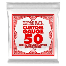 Ernie Ball Nickel Wound Single Electric Guitar String .050w