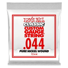 Ernie Ball Pure Nickel Wound Single Electric Guitar String .044w