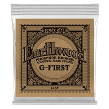 Ernie Ball Earthwood Phosphor Bronze Acoustic Bass Guitar Single String - Long Scale .045
