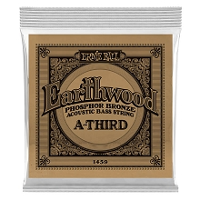 Ernie Ball Earthwood Phosphor Bronze Acoustic Bass Guitar Single String - Long Scale .080