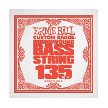 Ernie Ball Nickel Wound Slinky Electric Bass Single String - Long Scale .135