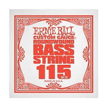 Ernie Ball Nickel Wound Slinky Electric Bass Single String - Long Scale .115