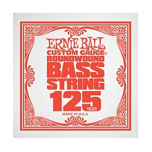 Ernie Ball Nickel Wound Slinky Electric Bass Single String - Long Scale .125