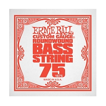 Ernie Ball Nickel Wound Slinky Electric Bass Single String - Long Scale .075