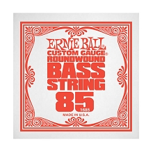 Ernie Ball Nickel Wound Slinky Electric Bass Single String - Long Scale .085