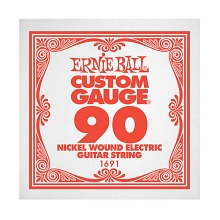 Ernie Ball Nickel Wound Single Electric Guitar String .090w