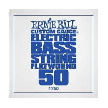 Ernie Ball Flatwound Electric Bass Single String - Long Scale .050