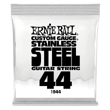 Ernie Ball Stainless Steel Wound Single Electric Guitar String .044