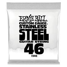 Ernie Ball Stainless Steel Wound Single Electric Guitar String .046