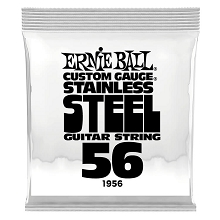 Ernie Ball Stainless Steel Wound Single Electric Guitar String .056