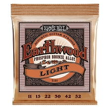 Ernie Ball Earthwood Phosphor Bronze Acoustic Guitar String Set - 11-52 Light 2148