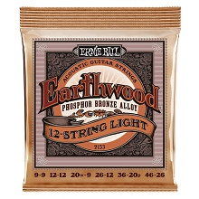 Ernie Ball Earthwood Phosphor Bronze Acoustic Guitar String Set - 09-46 12-String Light 2153