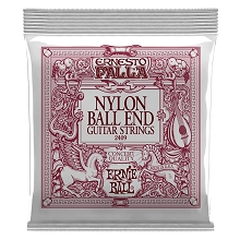 Ernie Ball Ernesto Palla Classical Guitar String Set - 28-42 Black and Gold Ball 2409