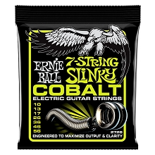 Ernie Ball Slinky Cobalt Wound Electric Guitar String Set - 7-String 10-56 Regular Slinky 2728