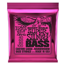 Ernie Ball Slinky Nickel Wound Bass Strings Short Scale - 4-String 40-100 Super Slinky 2854