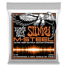 Ernie Ball Slinky M-Steel Wound Electric Guitar String Set - 09-46 Hybrid Slinky 2922