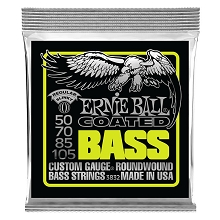 Ernie Ball Slinky Coated Nickel Wound Bass Strings Long Scale - 4-String 50-105 Regular Slinky 3832
