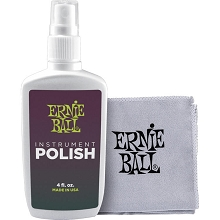 Ernie Ball Guitar Polish and Cloth Kit 4222