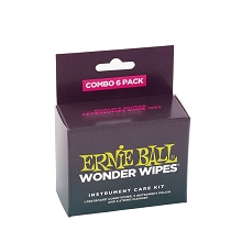 Ernie Ball Wonder Wipes Multi-Pack Instrument Care Kit