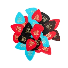 Ernie Ball Cellulose Guitar Picks - .46mm Thin Assorted bag of 144