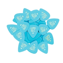 Ernie Ball Cellulose Guitar Picks - .72mm Medium Blue bag of 144