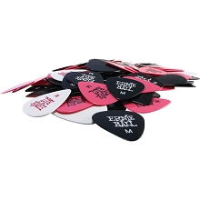 Ernie Ball Cellulose Guitar Picks - .72mm Medium Assorted bag of 144