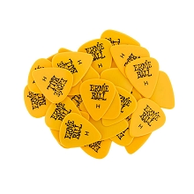 Ernie Ball Cellulose Guitar Picks - .94mm Heavy Yellow bag of 144