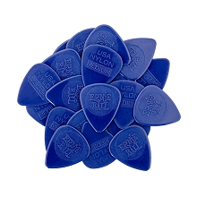 Ernie Ball Nylon Guitar Picks - .72mm Medium Dark Blue bag of 50