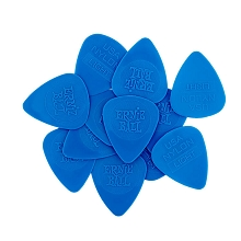 Ernie Ball Nylon Guitar Picks - .53mm Thin Blue bag of 12