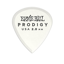 Ernie Ball Prodigy Mini Guitar Picks - 2.0mm White 6-Pack