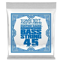 Ernie Ball Nickel Wound Slinky Electric Bass Single String - Super Long Scale .045
