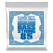 Ernie Ball Nickel Wound Slinky Electric Bass Single String - Super Long Scale .085