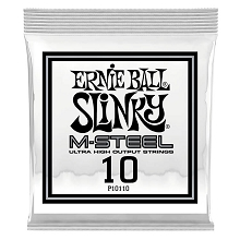 Ernie Ball Slinky M-Steel Plain Steel Single Guitar String .010p