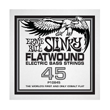 Ernie Ball Cobalt Flatwound Electric Bass Single String - Long Scale .045
